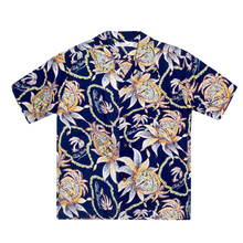 Sun Surf Mens Dreams and Pineapples Navy Hawaiian Shirt SURF8590