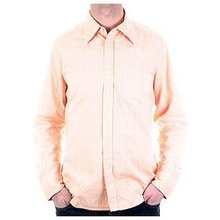 D&G Shirt Dolce & Gabbana long sleeve self coloured woven stripe shirt