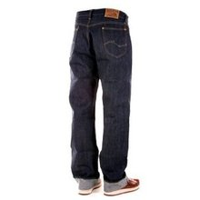 Sugar Cane Mens 1945 SC41945N Vintage Cut Non Wash Blue-Line Selvedge Denim Jeans CANE3213
