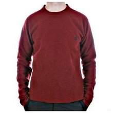 Massimo Osti long sleeve red knitwear