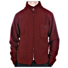Massimo Osti jacket long sleeve red knitted jacket