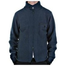 Massimo Osti jacket long sleeve knitted oil blue jacket