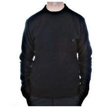 Massimo Osti long sleeve black knitwear