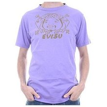 Evisu European Edition Regular Fit Crew Neck Grape Short Sleeve Vintage T-shirt EVIS3105