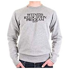 RedDot 'Witness Relocation Program' long sleeve sweat shirt