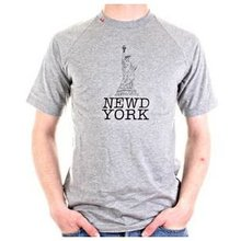 RedDot t-shirt 'Newd York' short sleeve top