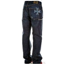 Fake London Genius Crosshatch denim Jeans FAKE2465