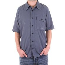 Stone Island shirt mens airforce blue short sleeve shirt SI2011