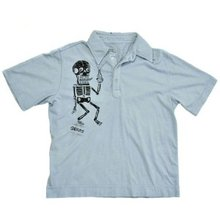 LA Airline Polo T-Shirt Germs Boogie Down Top