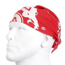 RMC Jeans 100% Cotton Red Printed Bandana for Men RMC Jeans2916