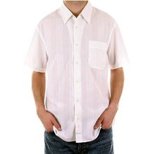 CP Company Shirt mens short sleeve self striped shirt. CP2144