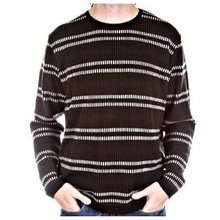 Burberry mens stripe knitwear
