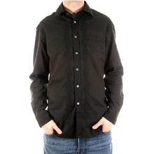 Paul Smith shirt mens black long sleeve shirt. PS3448