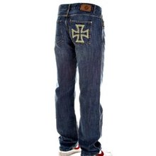 Fake London Mens Stonewash Jeans FAKE0948