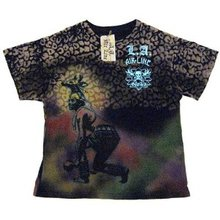 LA Airline Dance black t-shirt LAIR6498