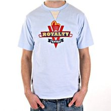 Evisu Crew Neck Regular Fit Royalty Sky Blue Short Sleeve T Shirt EVIS2303