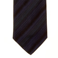 Hugo Boss Tie navy striped silk tie 50185569