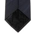 Tie Giorgio Armani black pin dot silk tie 19W316. GAM1139