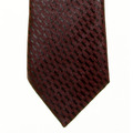 Giorgio Armani Tie damson/black silk tie 219W447 -  GAM1264