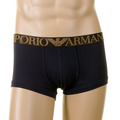 Under Wear Emporio Armani navy cotton trunk 110866 0W540 - EAM0144