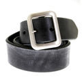 Sugar Cane Belt F01406 black leather belt CANE1141