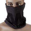 RMC Reversible Charcoal Grey Head and Neck Warmer Snood with Toggle and Pull Cord Closure REDM5495