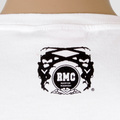 RMC Cotton Regular Fit 8th Anniversary Teddy Bear Crew Neck Short Sleeve T-Shirt in White REDM2786