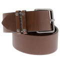 Belt Hugo Boss Orange label Babiti 50176620 mid brown leather belt BOSS4914