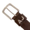 Armani Jeans M611 675 chocolate brown leather belt AJM2216
