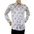 D&G Shirt Dolce & Gabbana white and blue shirt 160238023 0S825 DGM1456