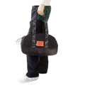 RMC Jeans Unisex Denim Hand Held Bag with Leather Base REDM5529