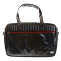 RMC MKWS Unisex Laminated Tartan Lined Hand Carry Office Bag with Denim Coating REDM5541