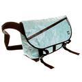 RMC MKWS Unisex Aqua Blue 100% Cotton Canvas Shoulder Cyclist Bag with PVC Coating REDM5551