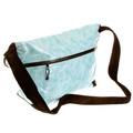 RMC MKWS Unisex Aqua Blue 100% Cotton Canvas Shoulder Cyclist Bag with PVC Coating REDM5551