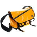 RMC Unisex Large Canvas Cotton Fashion Cyclist Shoulder Bag with Amber PVC Lamination REDM5549