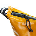 RMC Jeans Mens Unisex Laminated Amber Canvas Shoulder Cyclist Fashion Bag REDM5572