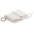 RMC Jeans White Italian Grain Leather Pouch Wallet for Men REDM5730