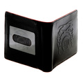 RMC Wallet Martin Ksohoh black leather bill fold and credit card wallet 225826 AF66N 1060  REDM5514