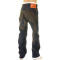 Yoropiko Black Hungry Dragon 574 Super Exclusive Raw Selvedge Vintage Cut Denim Jeans YORO2880