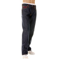 RMC Mens Vintage Cut Raw Denim Jeans with Dream of the Fishermans Wife Octopus multi-colour Embroidery REDM2967