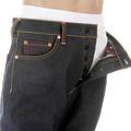 RMC Martin Ksohoh Vintage Cut Dark Indigo Raw Denim Dragon and Japan Map Embroidered Jeans for Men REDM2891