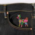 RMC Martin Ksohoh Harvest Buddha Embroidered Vintage Cut House Selvedge Dark Indigo Raw Denim Jeans REDM2893