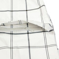 Yoropiko Red Monkey Company White Grey Check Regular Fit Hooded Functional Jacket REDM3169