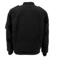 Yoropiko x RMC  Red Monkey Black Wool and Polyester Padded Regular Fit Water and Wind Proof Blouson Jacket REDM3159