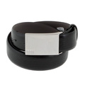 Belt Hugo Boss Perioso black leather belt 50196268 BOSS1685