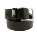 Belt Hugo Boss Orange label Jackson black leather belt 50180958 BOSS1691