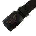 Armani Jeans black leather belt P6105 UF AJM1428