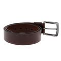 Armani Jeans chocolate brown leather casual belt P61116 UI AJM1420