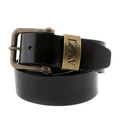 Armani Jeans black leather casual belt P6104 UH AJM1427