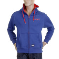 RMC Martin Ksohoh MKWS Mens Zipped Regular Fit Royal Blue Hooded Sweatshirt REDM2320